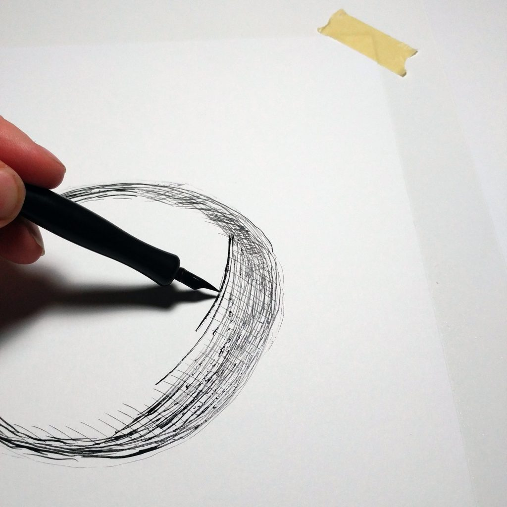 Learning to draw short lines