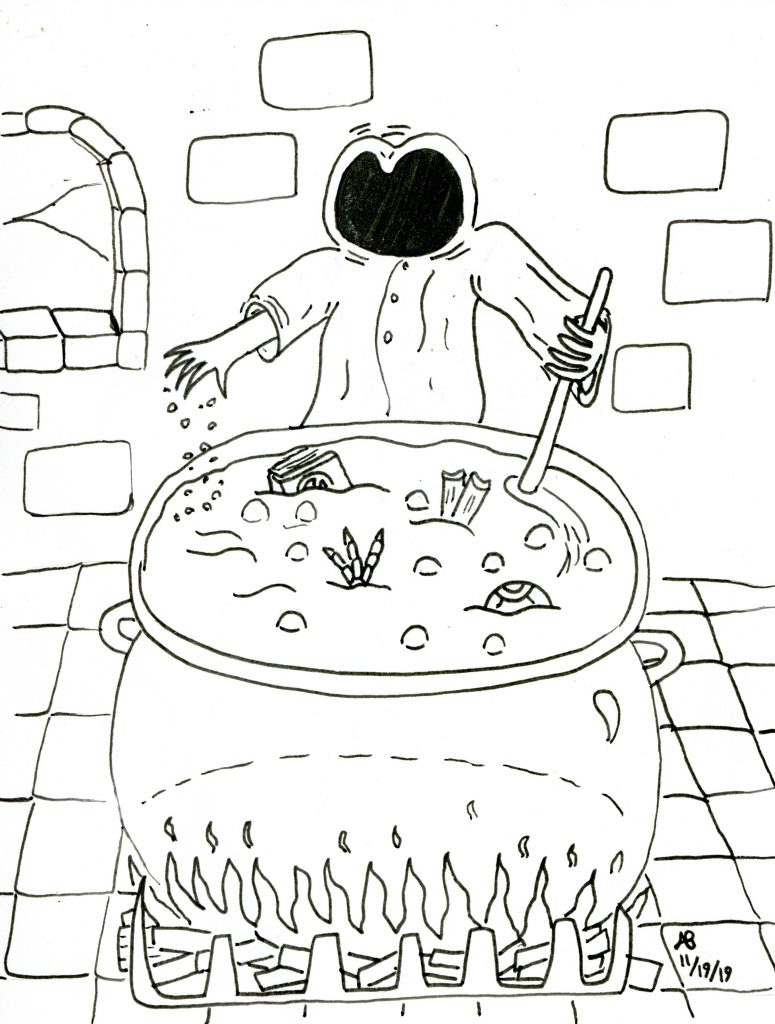 Monstervember 2019 Day 19 Boil