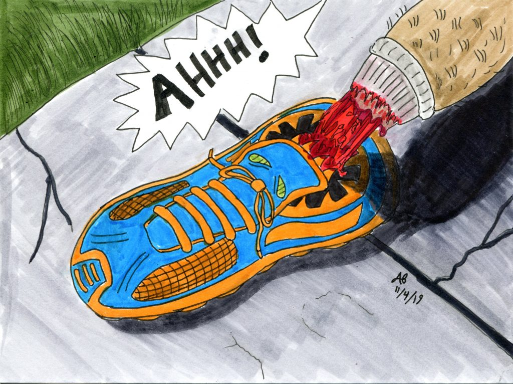 Monstervember 2019 Day 4 Shoe
