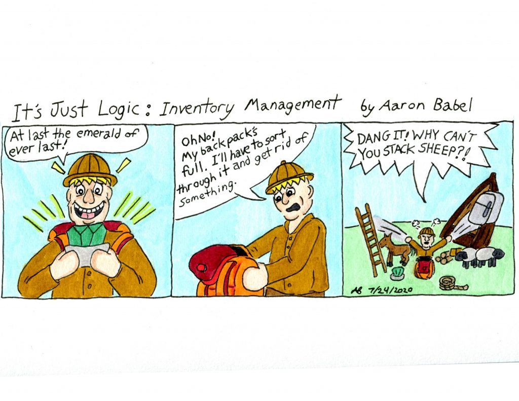 It's Just Logic: Inventory Management