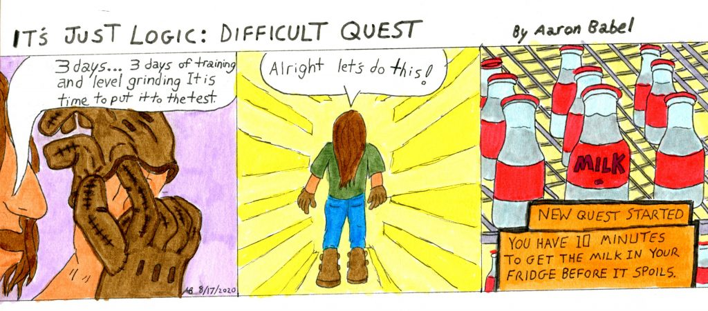 It's Just Logic: Difficult Quest